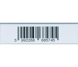Self-adhesive label bar 58x210