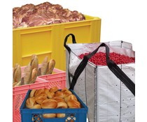 Food handling container