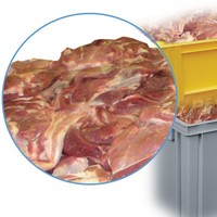 Meat handling containers
