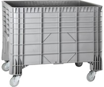 Large volume container 1200x800x940 • 550L 4 wheels