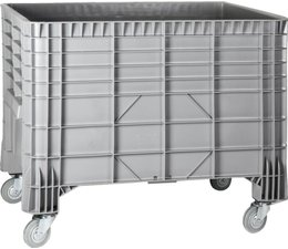 Large capacity containers 1200x800x940, 4 wheels, 550L
