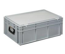Plastic case 600x400x233 two handles • 42 litres
