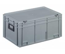 Plastic case 600x400x293 two handles • 53 litres