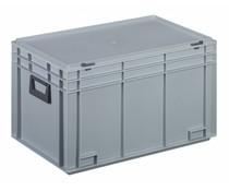 Plastic case 600x400x355 two handles • 65 litres