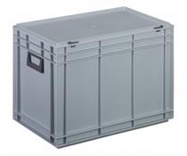 Plastic case 600x400x433 two handles • 79 litres