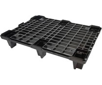 Halbpalette 800x600x130 • nestbar • offenes Deck
