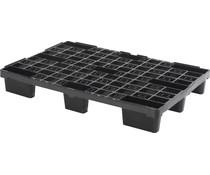 Plastic export pallet 1200x800x155 • open deck