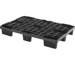 Plastic export pallet 1200x800x155 • open deck • light weight