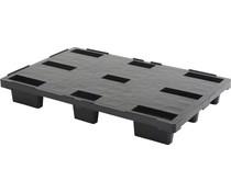 Nestbare Exportpalette 1200x800x155 • geschlossenes Deck