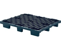 Plastic export pallet 1200x1000x160 • 9 feet