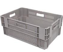 Drehstapelbehälter 600x400x320 perforiert • 60 Liter
