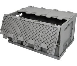 Folding container 600x400x320 • with lid