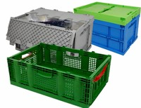 Folding container