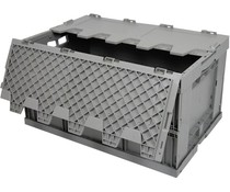 Folding container 600x400x320 • lid • reinforced base