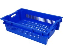 Stack nest container 600x400x150 perforated • 25 Liter