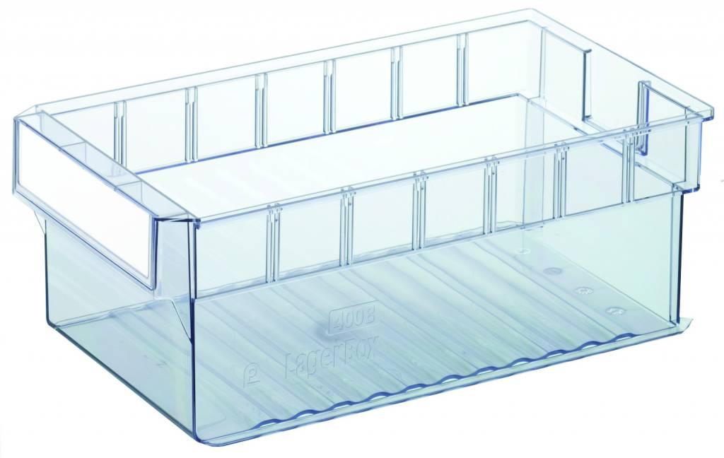 regalkasten materialflusskasten 400x235x145 transparent genteso. Black Bedroom Furniture Sets. Home Design Ideas