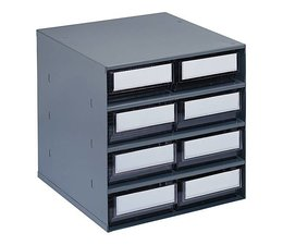 Drawer cabinet 376x400x400 with 8 rack boxes