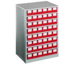 Drawer cabinet 600x417x862 with 48 rack boxes
