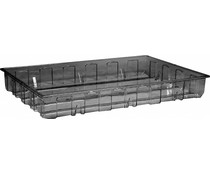 Spill containment pallet 1230x830x160 mm • 140 Liter • transparent