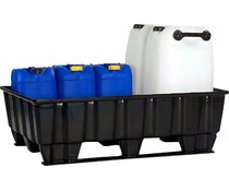 Opvangbak 1220x820x370 mm • 235 Liter • 2 onderlatten