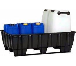 Auffangwanne 1220x820x370 mm • 2 Kufen • 235 Liter