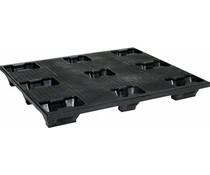 Industrie Stapelpalette 1200x1000x145 • 9 Füße