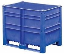 DOLAV Box Pallet 1200x800x950 • 652 L blue solid