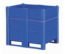 DOLAV Box Pallet 1200x800x1000 • 700 L blue solid