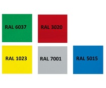 Individual colours for Euro stacking crates