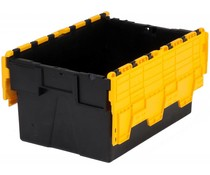 LOADHOG Distributiebak 600x400x310 geel • 56 Liter