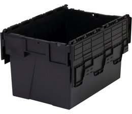 LOADHOG Mehrwegbehälter 600x400x365 grau • 65 Liter