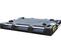 LOADHOG Paletten- Auflagedeckel 822x618x93 mit integrierten Ladungssicherungsgurten