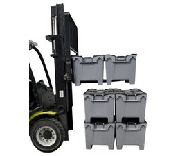 LOADHOG Mehrwegbehälter 1000x575x540 grau • 190 Liter schwerlast