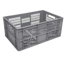 Euronorm crate • glass crate 600x400x270 perforated