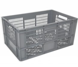 Euronorm crate • glass crate 600x400x320 perforated