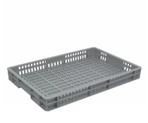 Euronorm crate 600x400x80 perforated