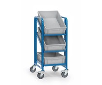 Shelf truck 410x610x1100 • 3 shelves • 3 Euro boxes