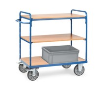 Etagenwagen 850x500x1111 • 3 Etagen • Holzböden