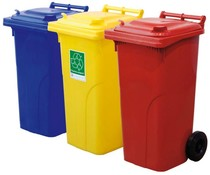 Waste containers with 2 wheels • 120 Liters • max load 60 kg