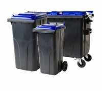 Waste and recycling containers • 2 and 4 wheels