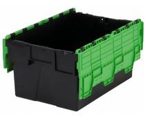 LOADHOG Distributiebak 600x400x400 groen • 77 Liter