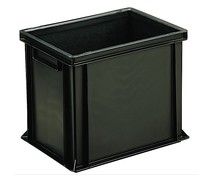 ESD Euro container 400x300x320 solid two handles