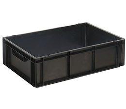 Eurobehälter 600x400x170 mm geschlossene Ausführung, geeignet für Versand, Lagerung und Schutz von elektronischen Bauteilen