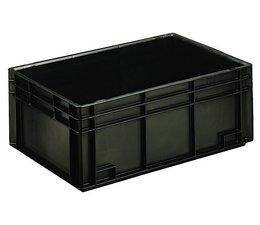 Eurobehälter 600x400x236 mm geschlossene Ausführung, geeignet für Versand, Lagerung und Schutz von elektronischen Bauteilen