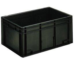 Eurobehälter 600x400x280 mm geschlossene Ausführung, geeignet für Versand, Lagerung und Schutz von elektronischen Bauteilen