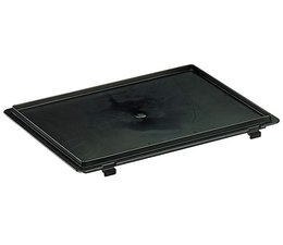 ESD Conductive Hinged lid for Euro container 400x300 mm