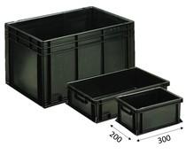 ESD Eurobehälter 300x200 mm