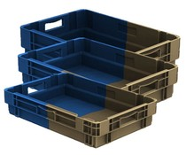 Stack and nest containers