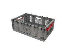 Folding container 600x400x221 • perforated