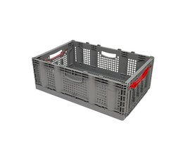 Folding container 600x400x221 perforated